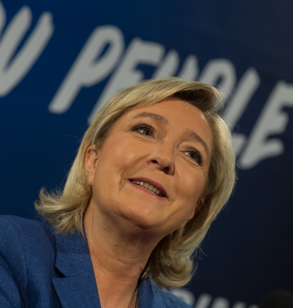 Marine Le Pen Asserts Controversial Positions on EU, Russia