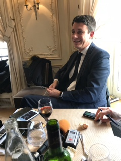 Benjamin Griveaux provides insider's view of the Macron administration